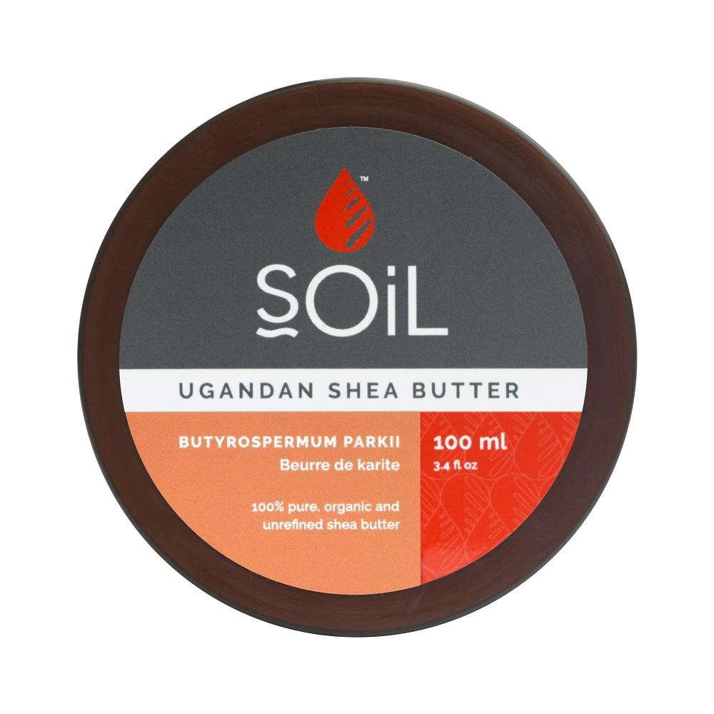 Unt de Shea Fair Trade Pur Inodor 100% Organic, 100ml, Soil imagine produs 2021