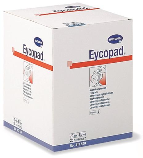 Comprese sterile oculare, 5.6 x 7 cm, 25 buc, Eycopad