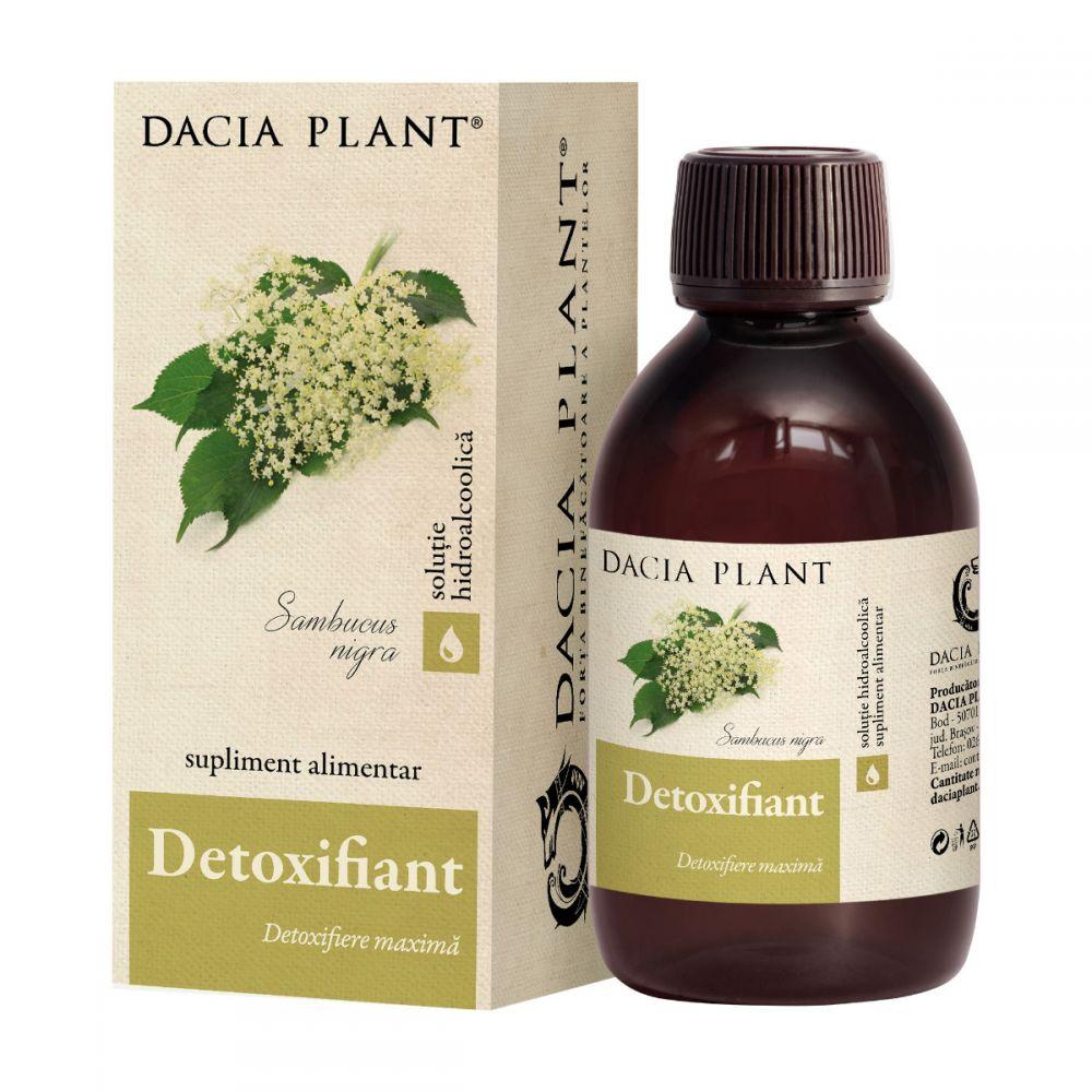 Tincura Detoxifiant, 200ml, Dacia Plant drmax.ro