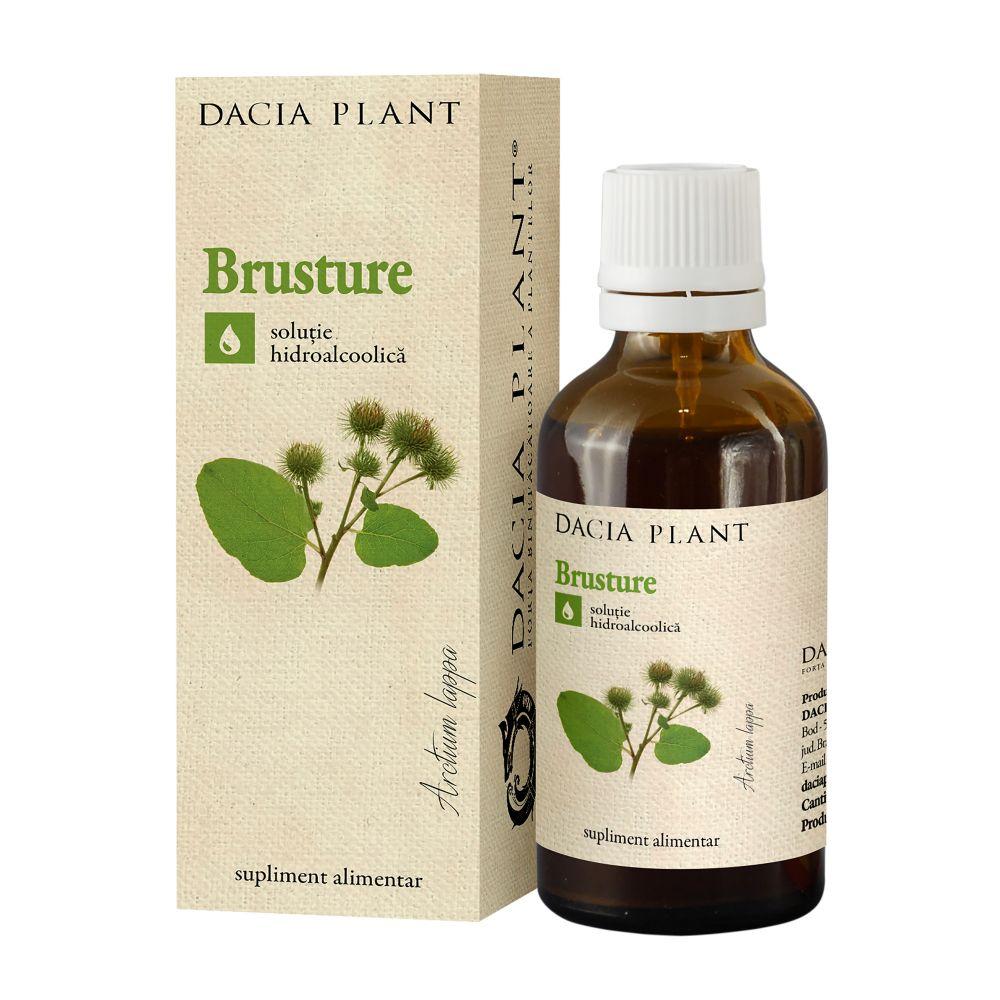 Tinctura de brusture, 50ml, Dacia Plant drmax.ro