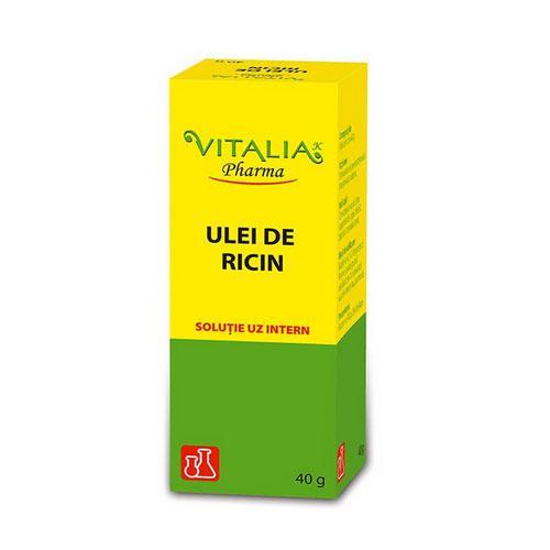 Ulei de ricin, 40 g, Vitalia imagine produs 2021