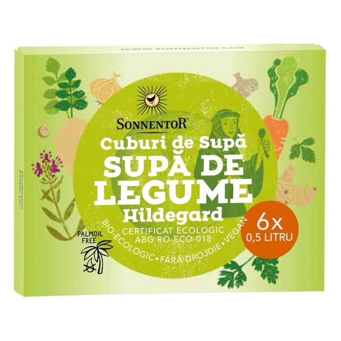Cub Bio Supa de Legume Hildegard, 6 X 10g, Sonnentor drmax.ro