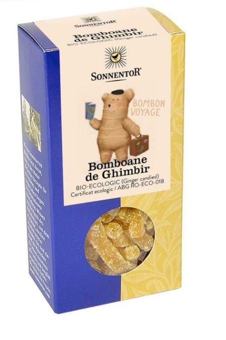 Bomboane Bio Ghimbir, 75g, Sonnentor drmax.ro