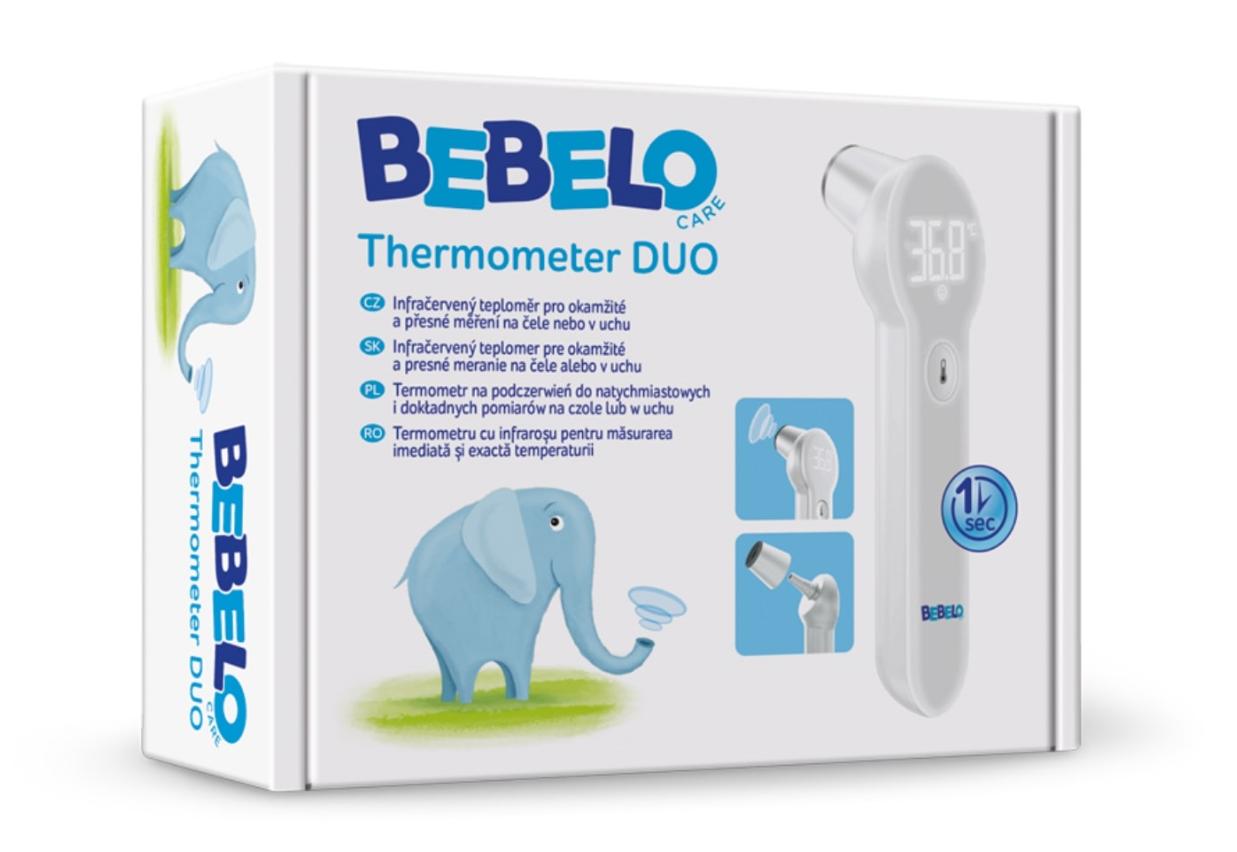 Bebelo Care Termometru Duo cu infrarosu, 1 bucata drmax poza