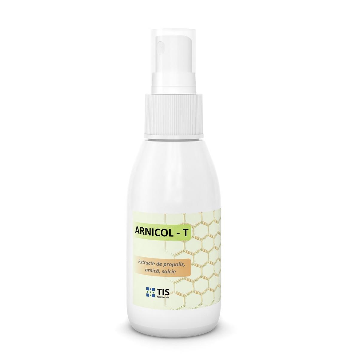Solutie antiacneica Arnicol-T, 50ml, Tis Farmaceutic drmax.ro