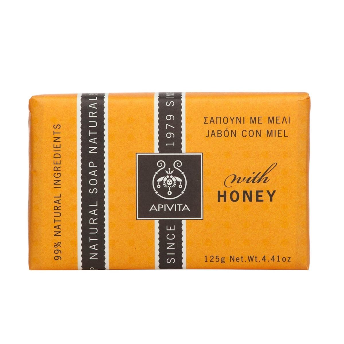 Apivita Sapun natural cu miere 125g