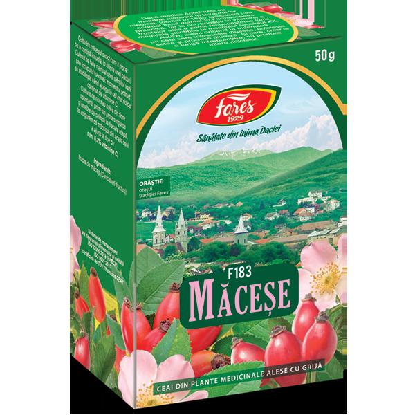 Ceai de macese F183, 50g, Fares drmax.ro