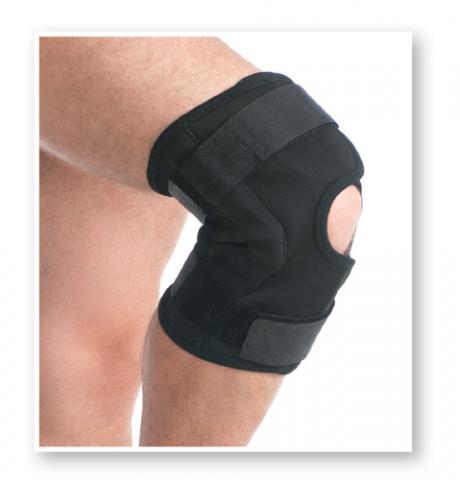 Orteza de genunchi pentru perioada post-operatorie 6303, 43-50cm, L/XL, Negru, Medtextile drmax.ro
