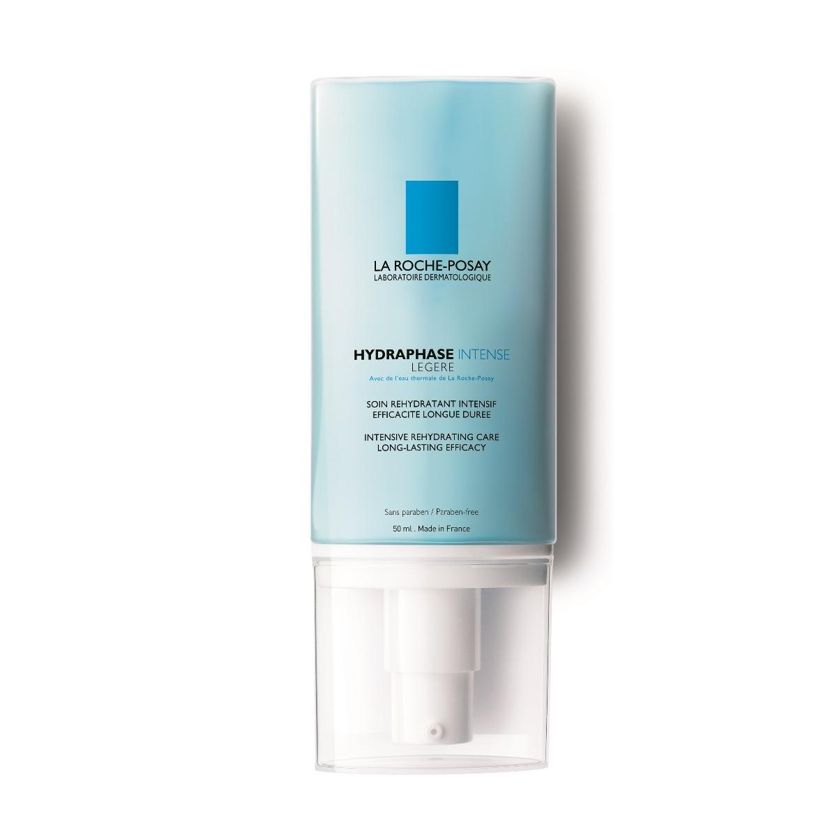Crema hidratanta ten normal-mixt Hydraphase Intense Legere, 50ml, La Roche-Posay imagine produs 2021