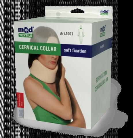 Guler cervical cu fixare usoara Nr. 1, 1 bucata, MedTextile drmax.ro