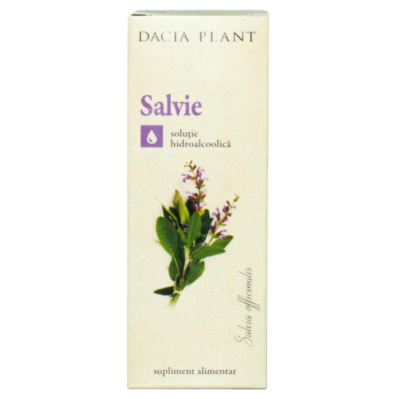 Tinctura de salvie, 50ml, Dacia Plant drmax.ro