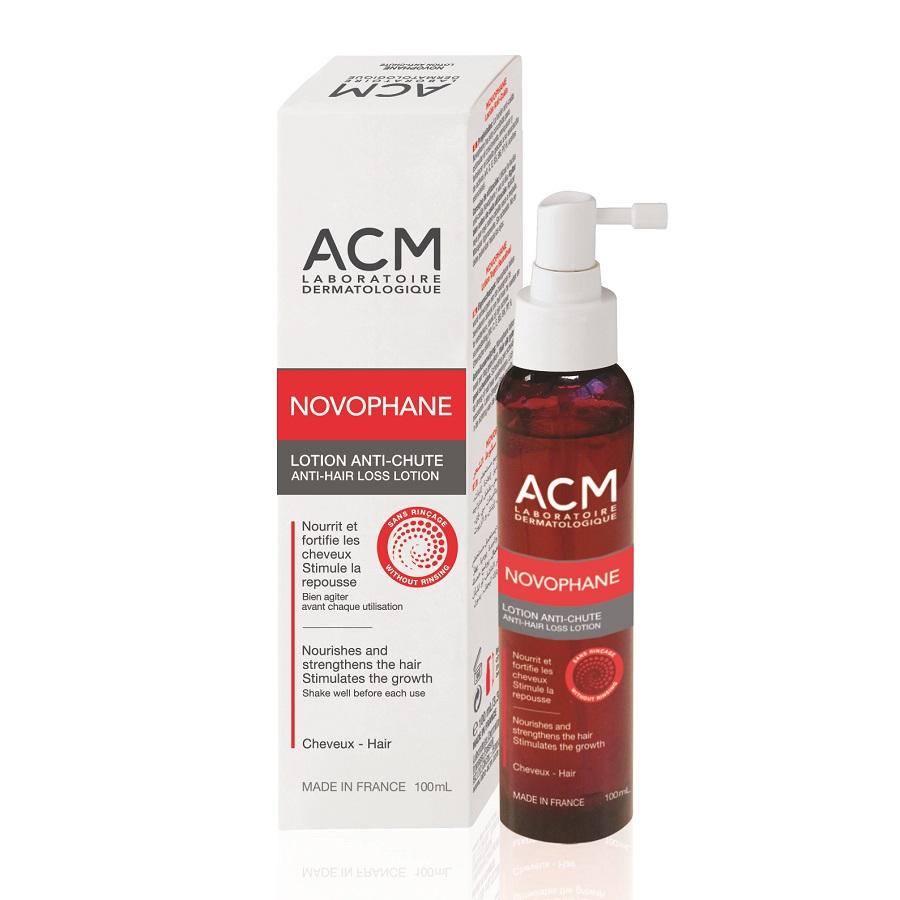 Lotiune impotriva caderii parului Novophane, 100 ml, ACM