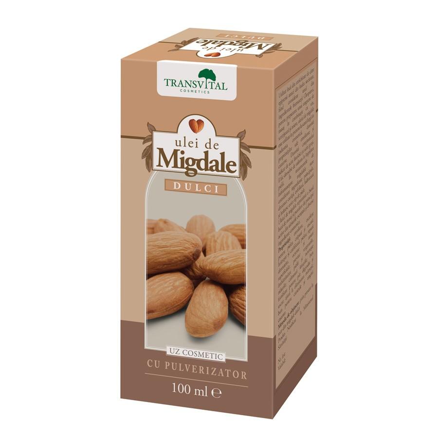 Ulei de Migdale dulci, 100ml, Transvital drmax.ro