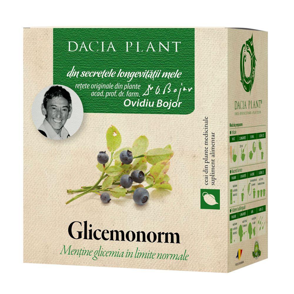 Glicenorm ceai, 50g, Dacia Plant drmax.ro