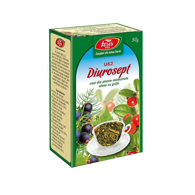 Ceai Diurosept, 50 g, Fares drmax.ro