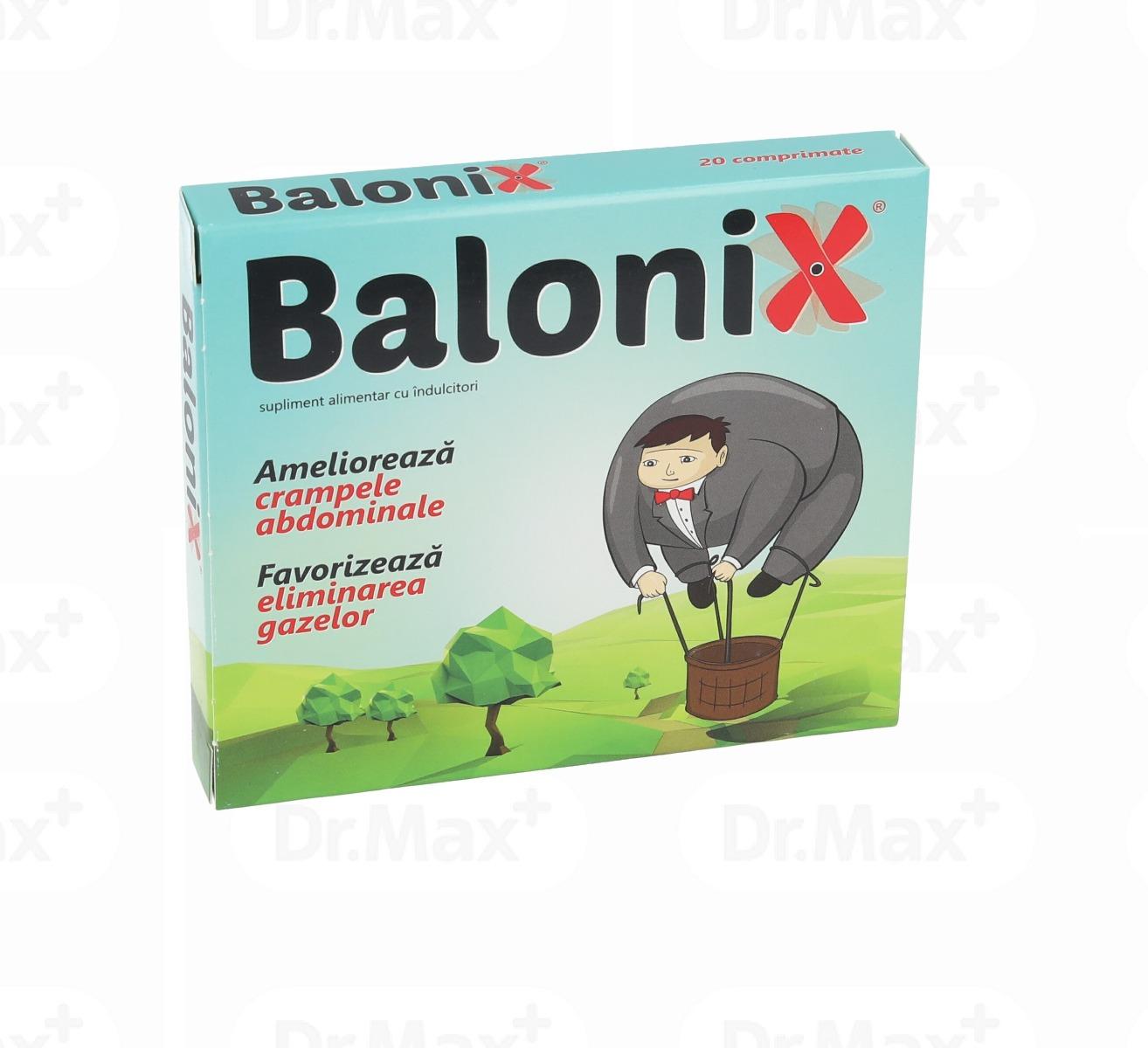 Balonix, 20 comprimate, Fiterman drmax.ro