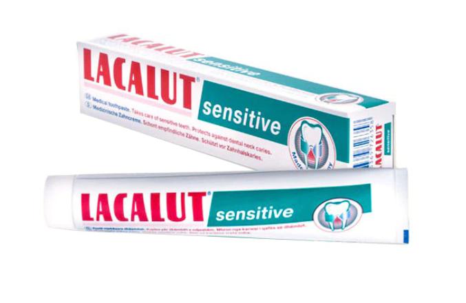 Pasta de dinti Sensitive, 75ml, Lacalut imagine drmax.ro