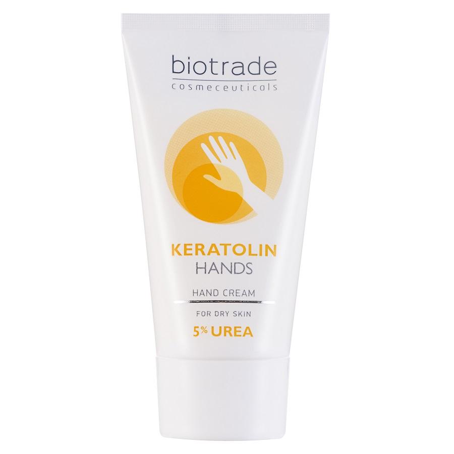 Crema pentru maini cu 5% uree Keratolin Hands, 50ml, Biotrade imagine produs 2021