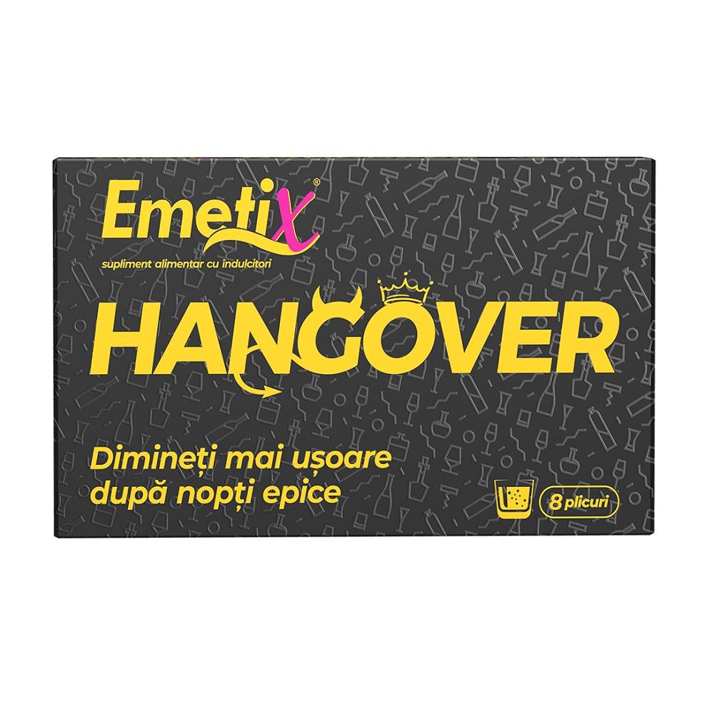 Emetix Hangover, 8 plicuri, Fiterman imagine produs 2021