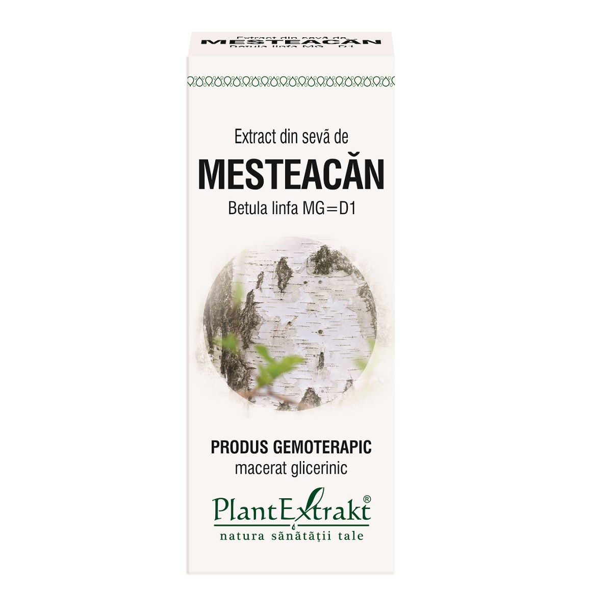 Extract din seva de mesteacan, 50ml, Plant Extrakt drmax.ro