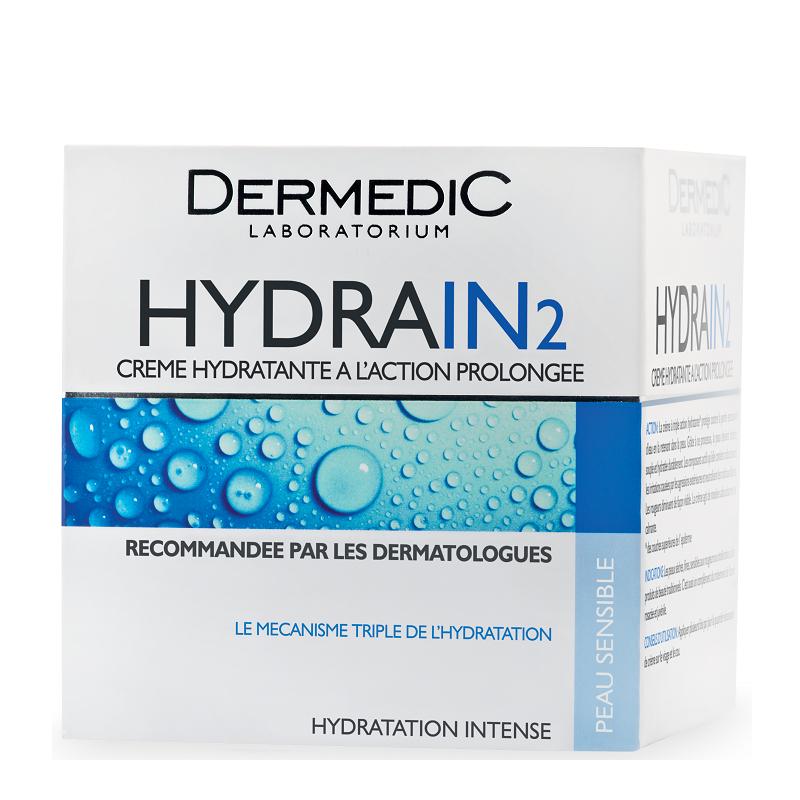 Crema Hidratanta cu actiune prelungita Hydrain2, 50g, Dermedic drmax.ro
