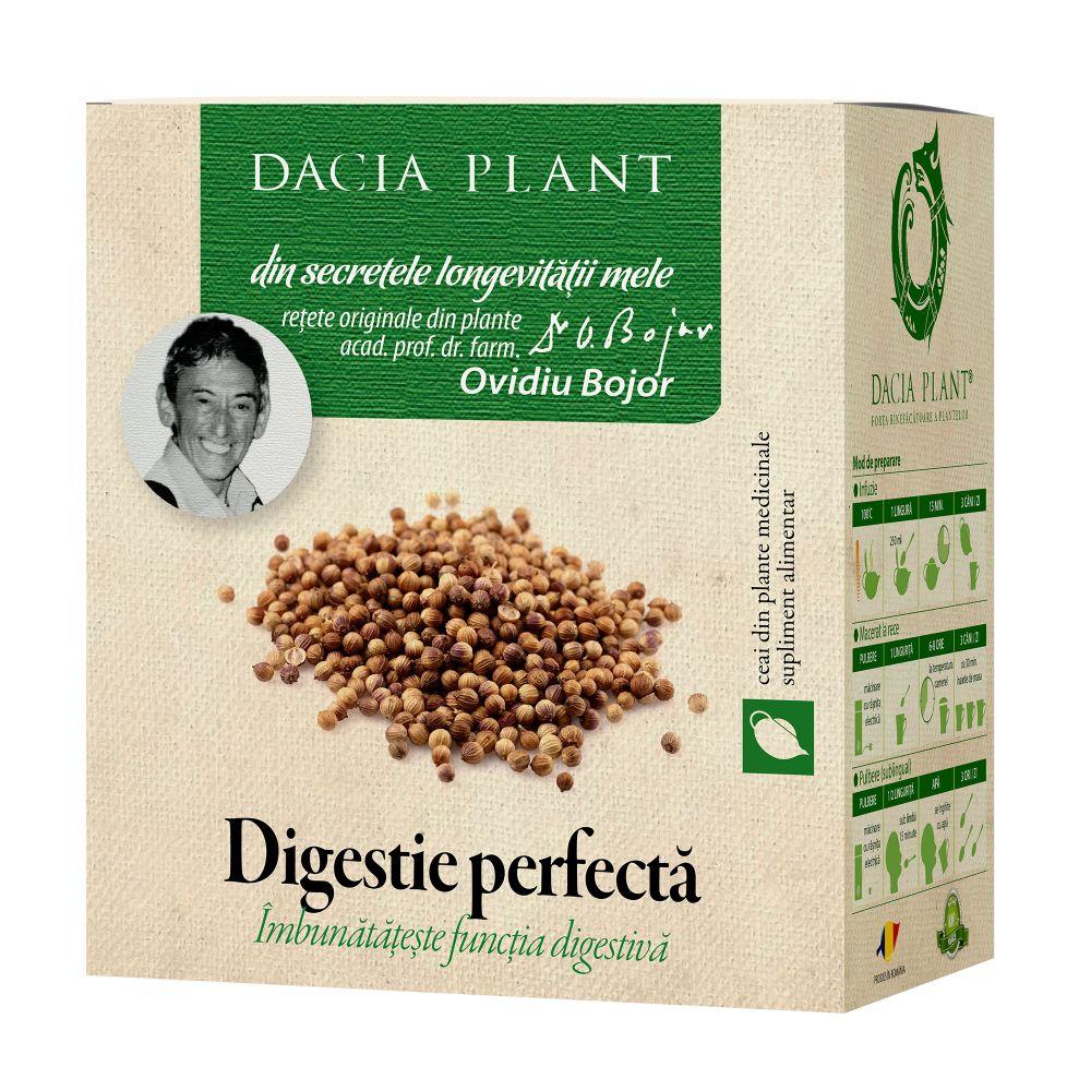 Ceai digestie perfecta, 50g, Dacia Plant drmax.ro