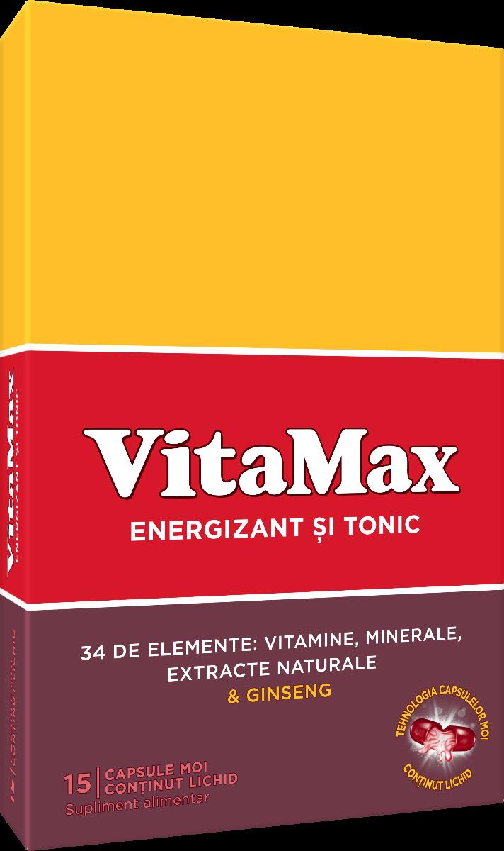 Vitamax, 15 capsule, Perrigo imagine produs 2021