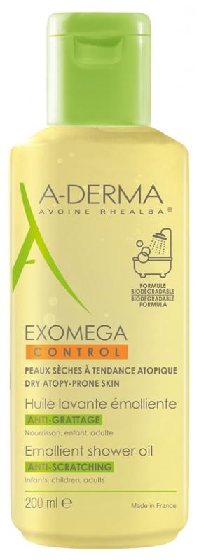 Ulei de dus Exomega Control, 200ml, A-Derma imagine produs 2021