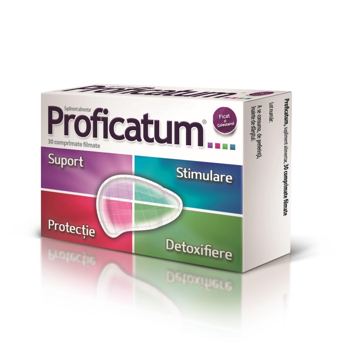 Proficatum, 30 comprimate, Aflofarm drmax.ro