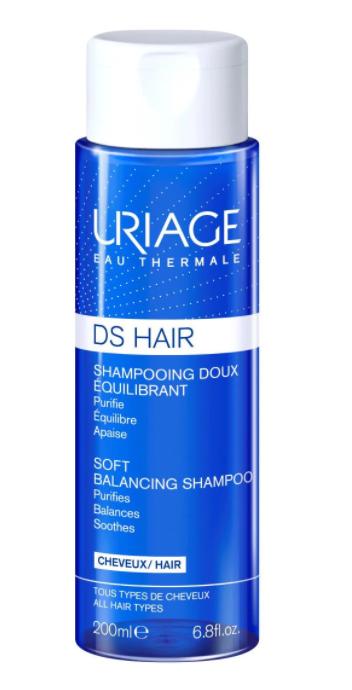 Sampon reechilibrant cu apa termala DS Hair, 200ml, Uriage imagine produs 2021