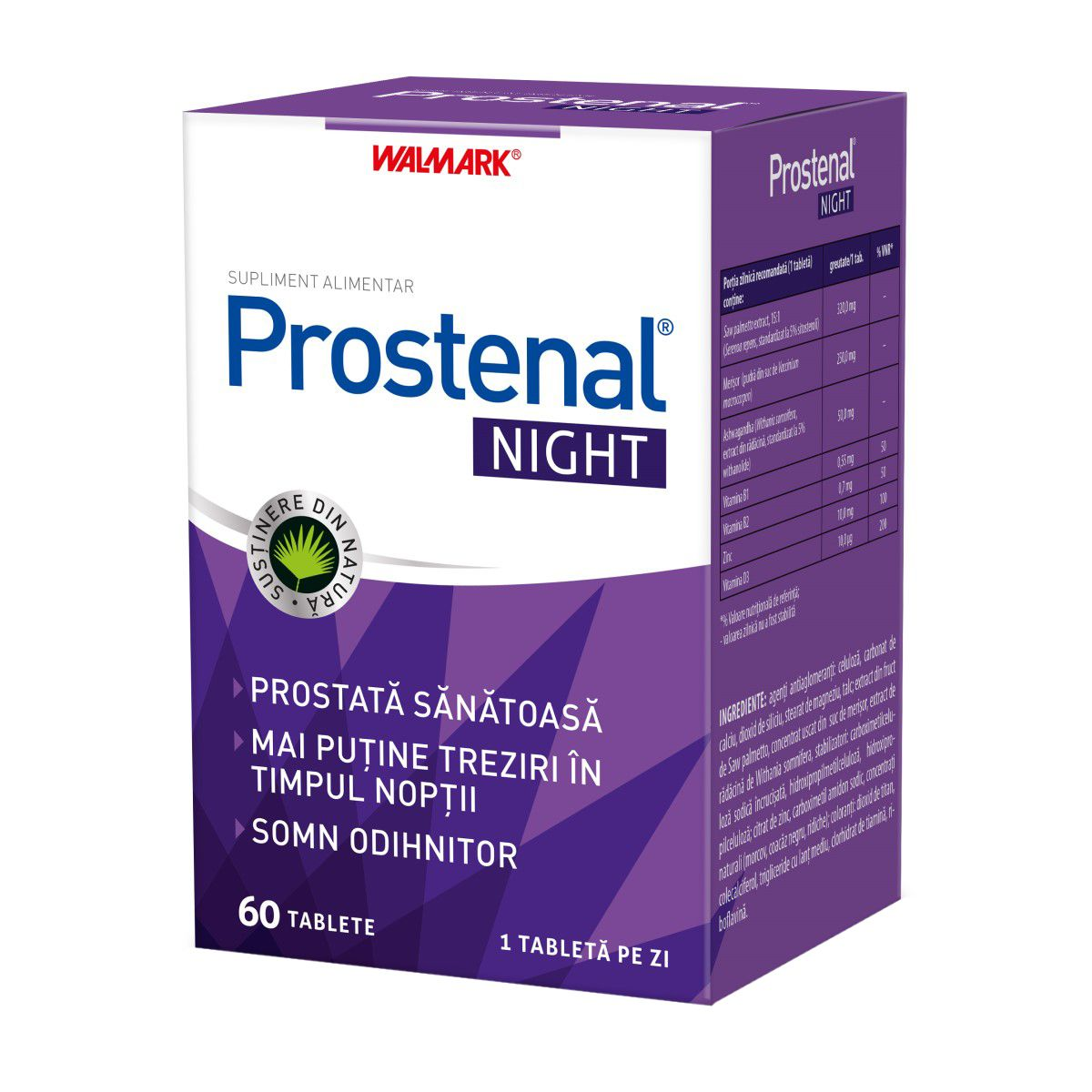 Prostenal Night, 60 tablete, Walmark drmax poza