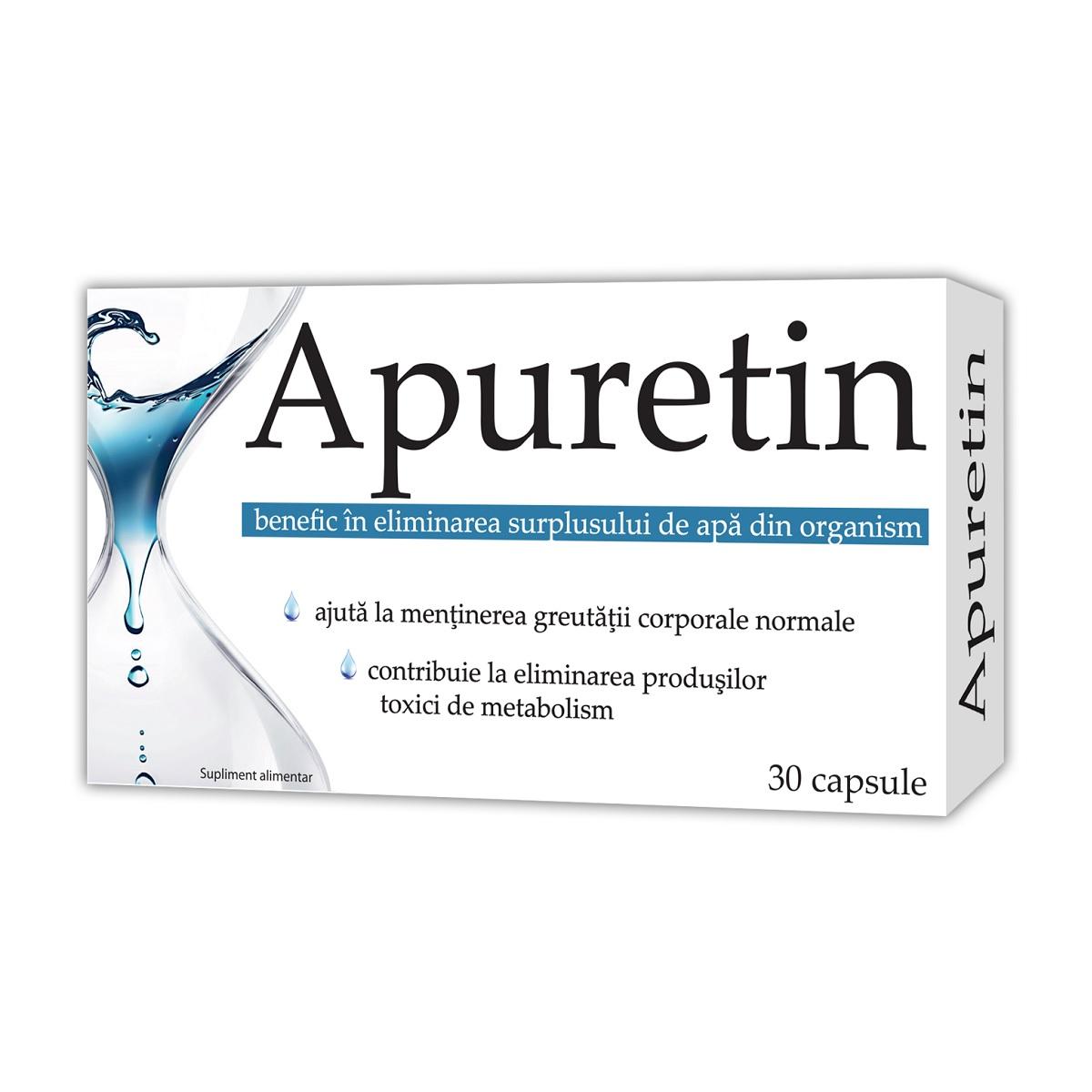 Apuretin, 30 capsule, Zdrovit la preț mic imagine