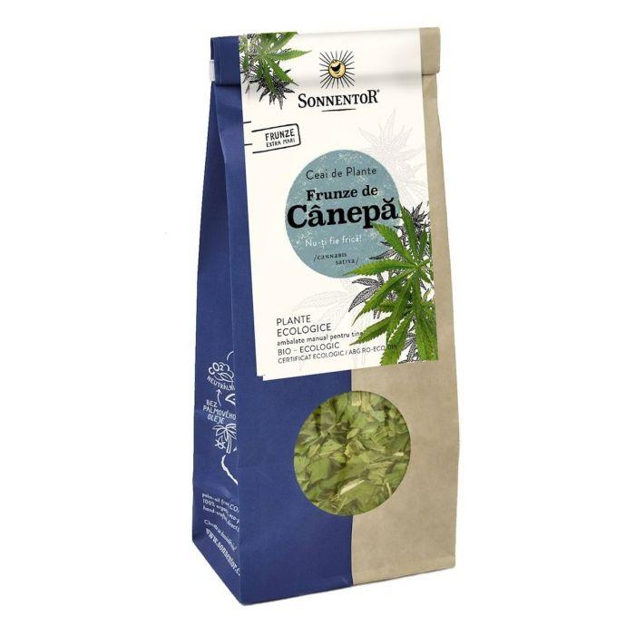 Ceai Bio Frunze de Canepa (Canabis Sativa), 40g, Sonnentor drmax poza
