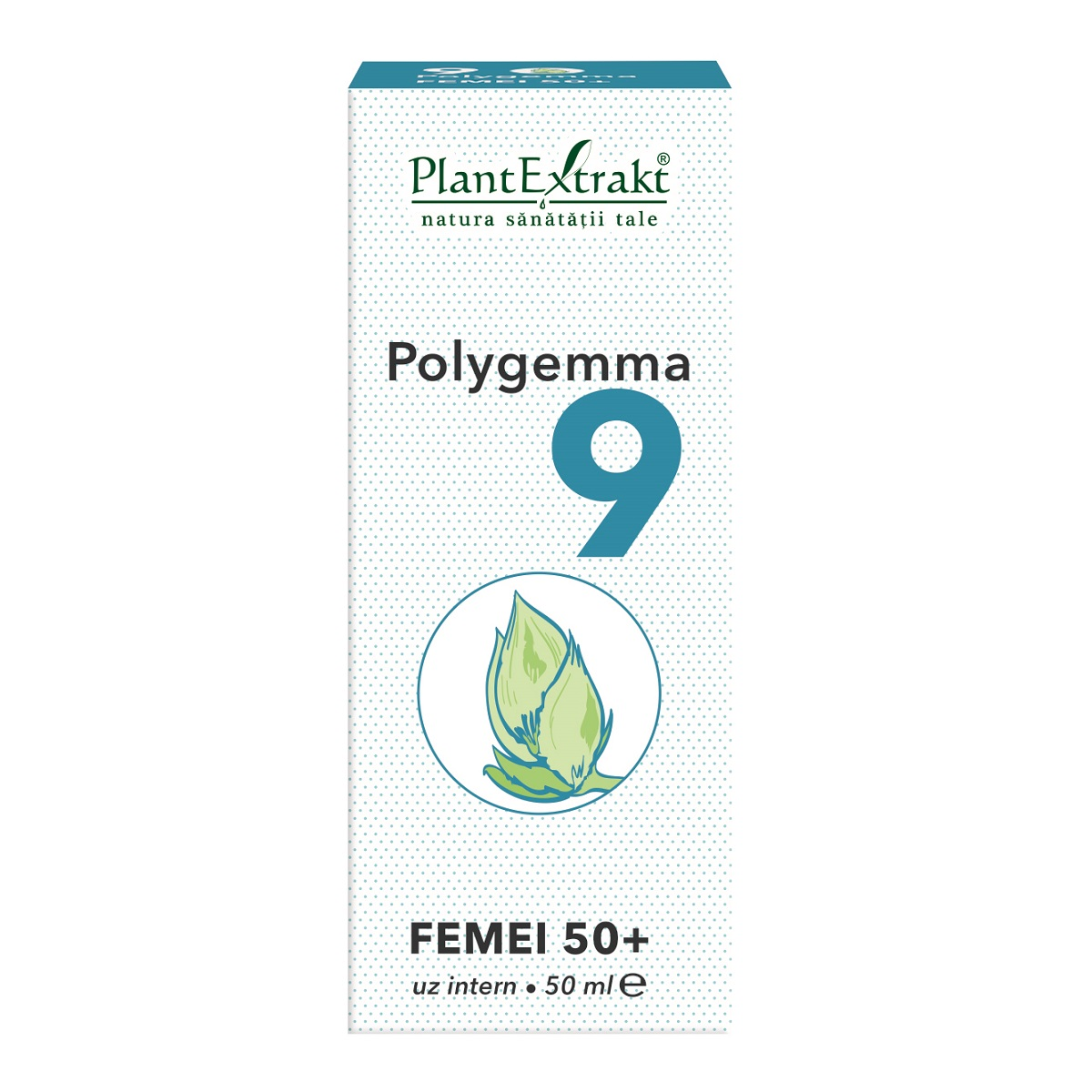 Polygemma 9 pentru femei 50+, 50ml, Plant Extrakt drmax poza