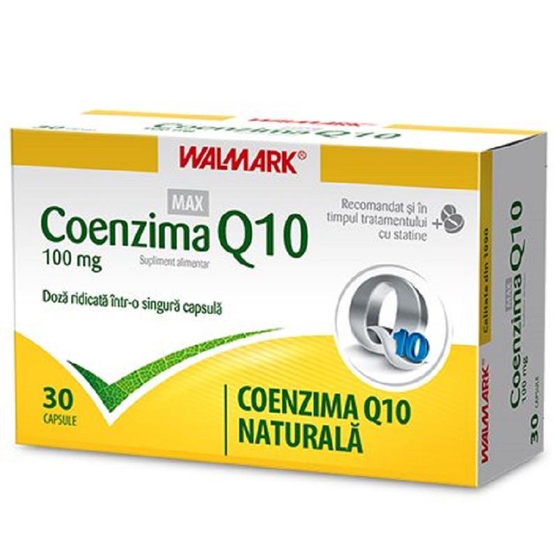 Coenzima Q10 Max 100 mg, 30 capsule, Walmark imagine produs 2021