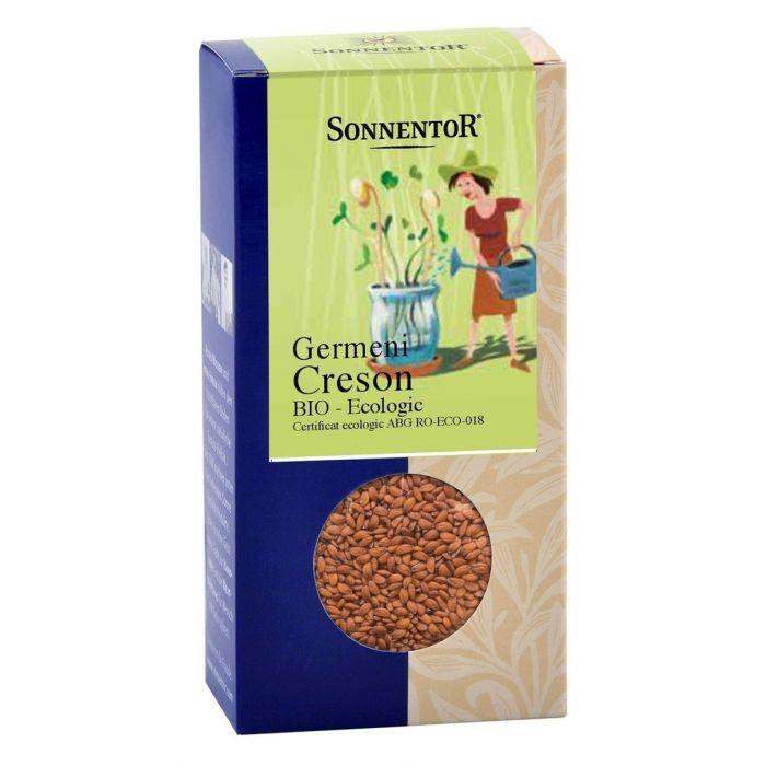 Seminte Bio - Germeni Creson, 120g, Sonnentor drmax.ro