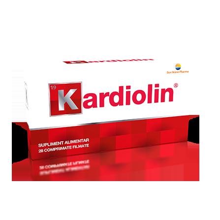 Kardiolin, 28 comprimate filmate , Sunwave imagine produs 2021