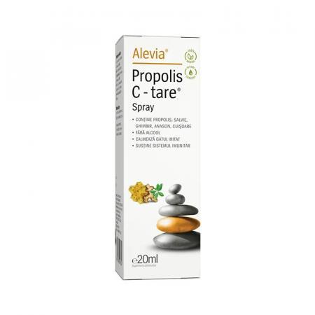 Propolis C-tare Spray, 20ml, Alevia imagine produs 2021