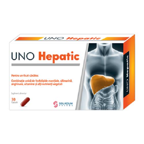 Uno Hepatic, 30 capsule, Solacium imagine produs 2021