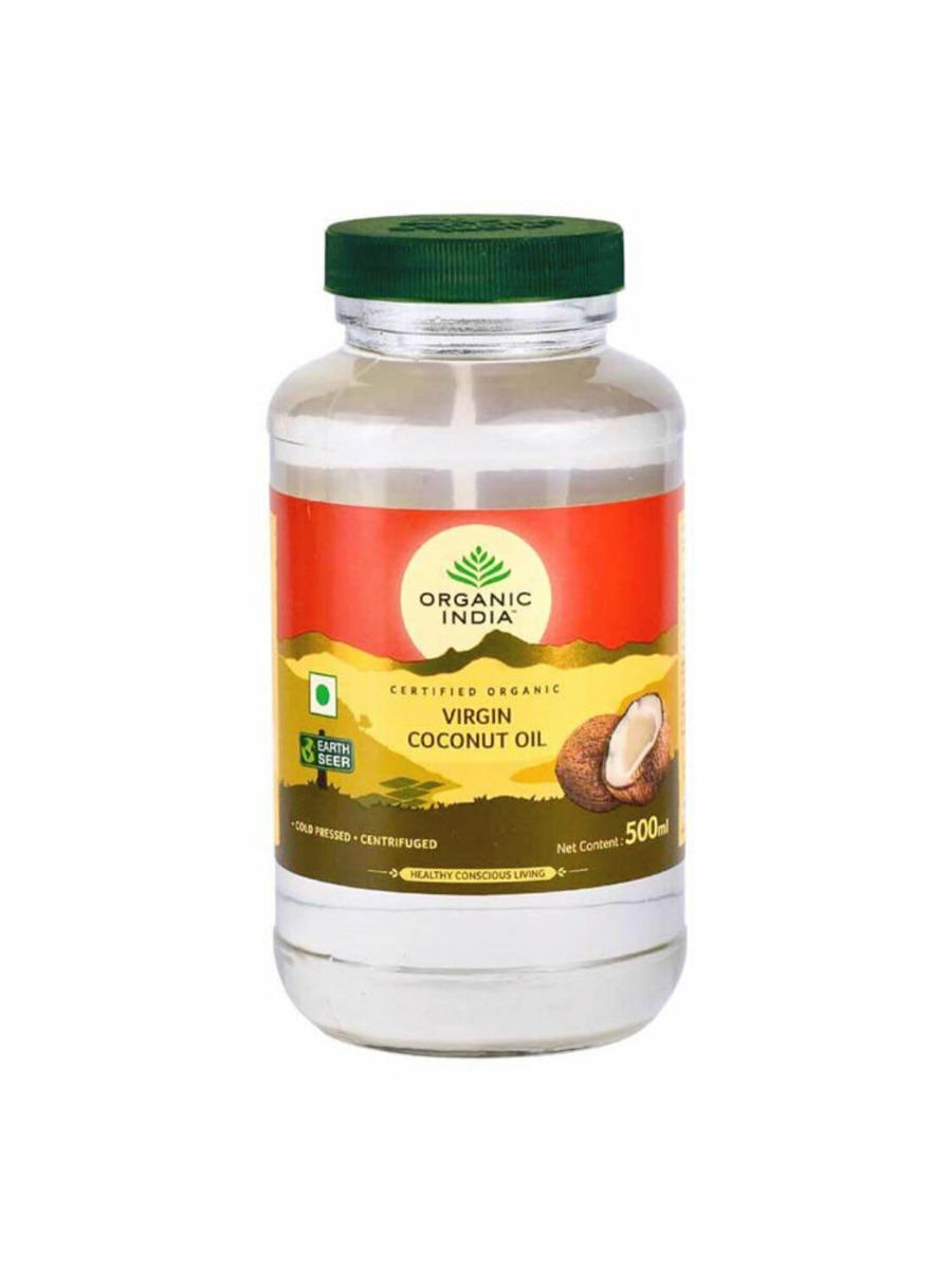Ulei de cocos virgin presat la rece Bio, 500ml, Organic India drmax poza