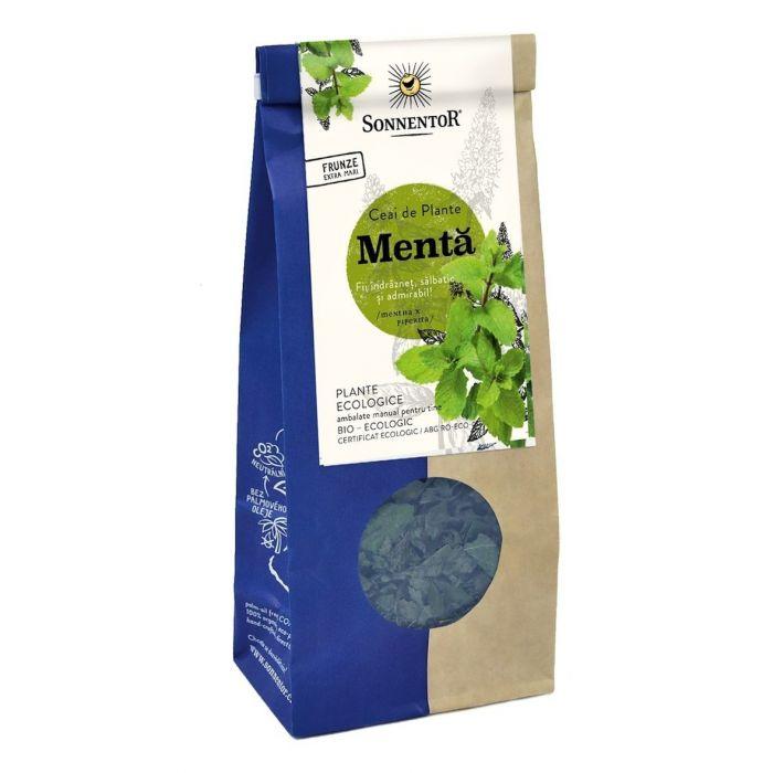 Ceai Bio Menta (mentha piperita), 50g, Sonnentor drmax.ro