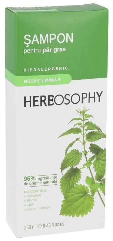 Herbosophy, Sampon cu extract de Urzica, 250ml imagine produs 2021