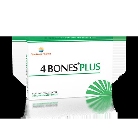 4 Bones Plus, 30 comprimate, Sunwave imagine produs 2021