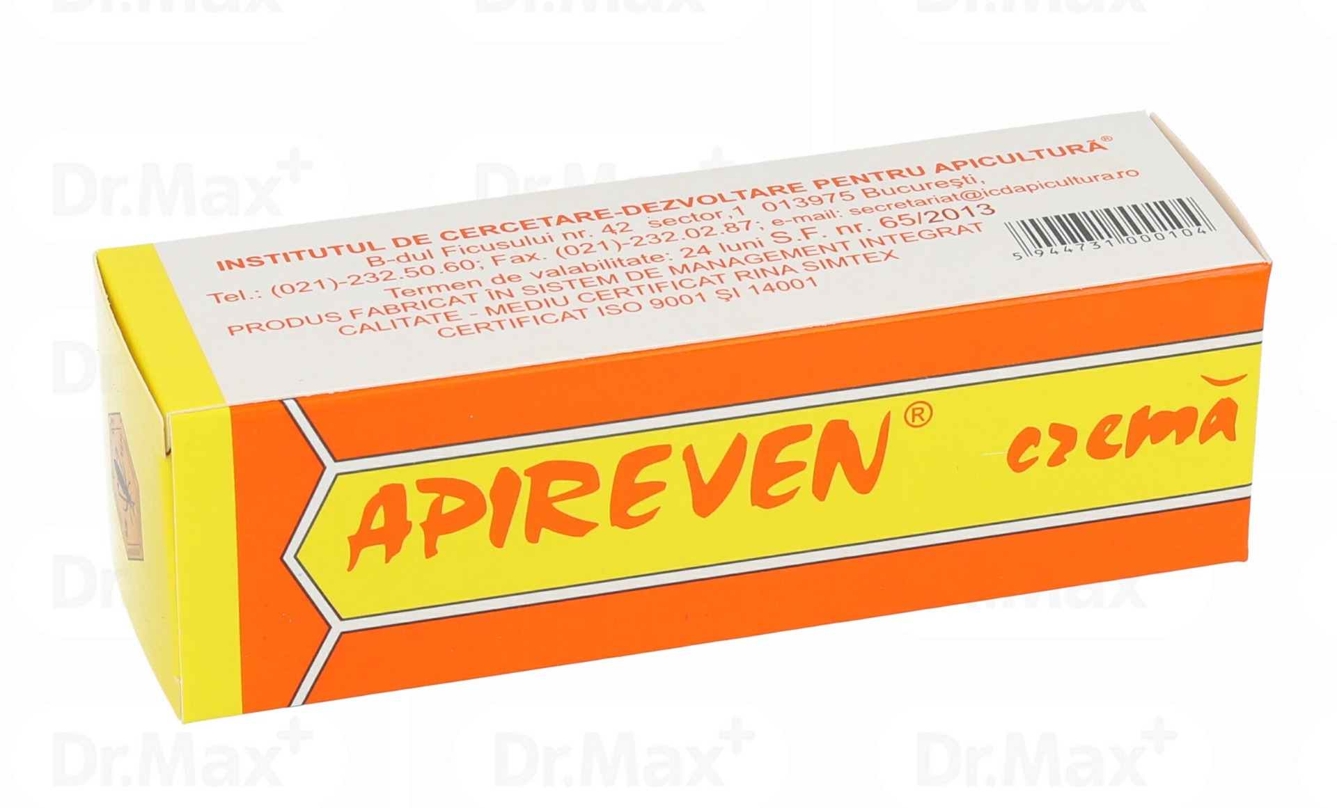 Apireven crema, 30 g, Institutul Apicol imagine produs 2021