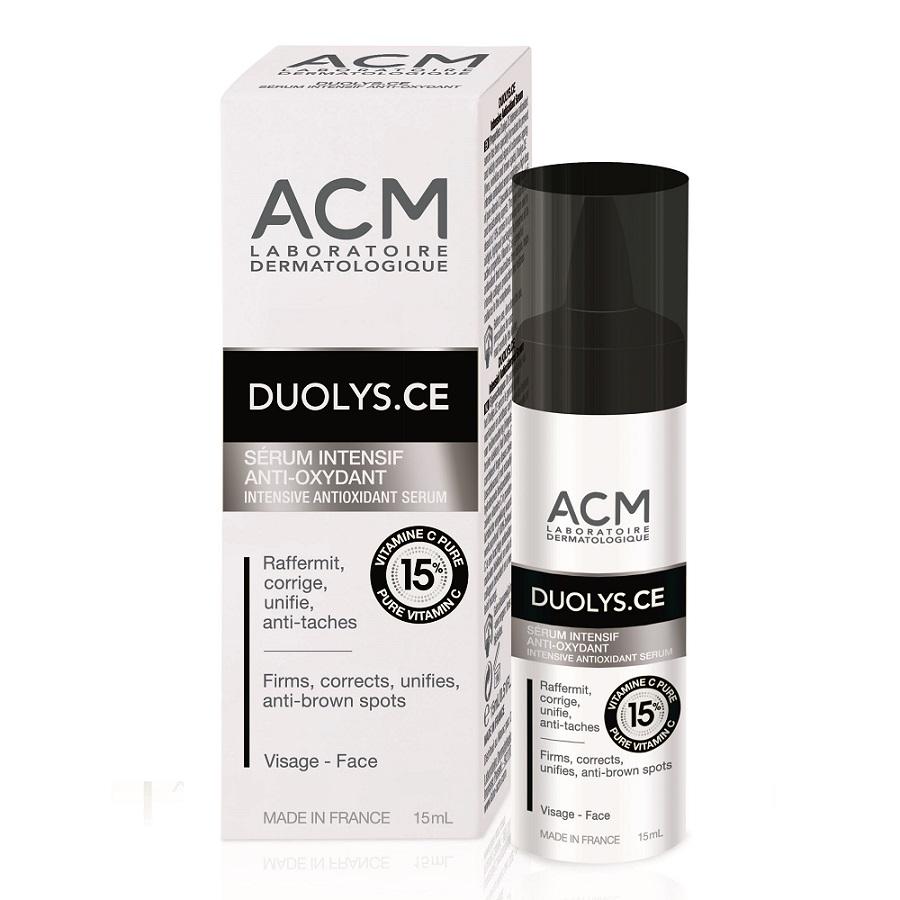 Ser intensiv antioxidant cu vitamina C pura 15% Duolys CE, 15 ml, ACM drmax.ro