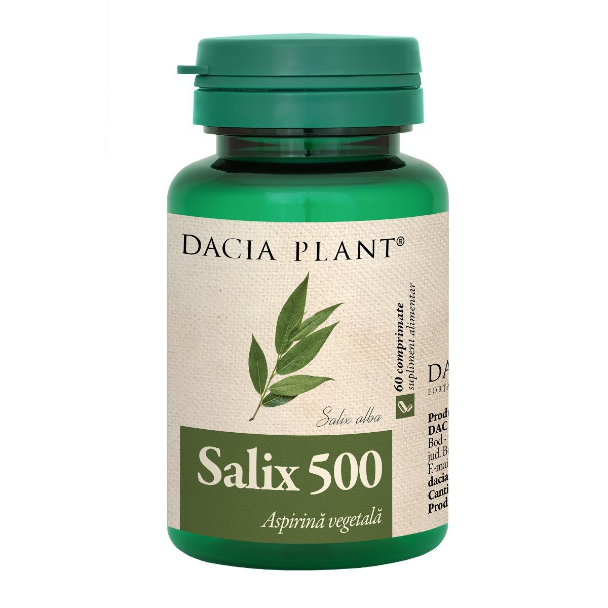 Salix, 60 comprimate, Dacia Plant drmax.ro