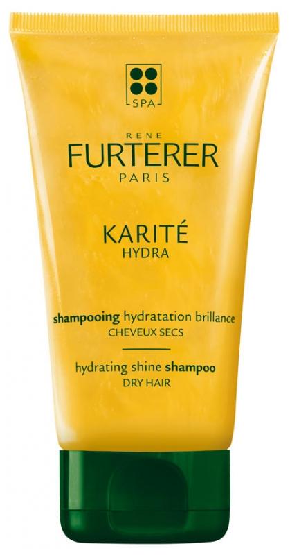 Sampon hidratant pentru par uscat Karite Hydra, 150 ml, Rene Furterer