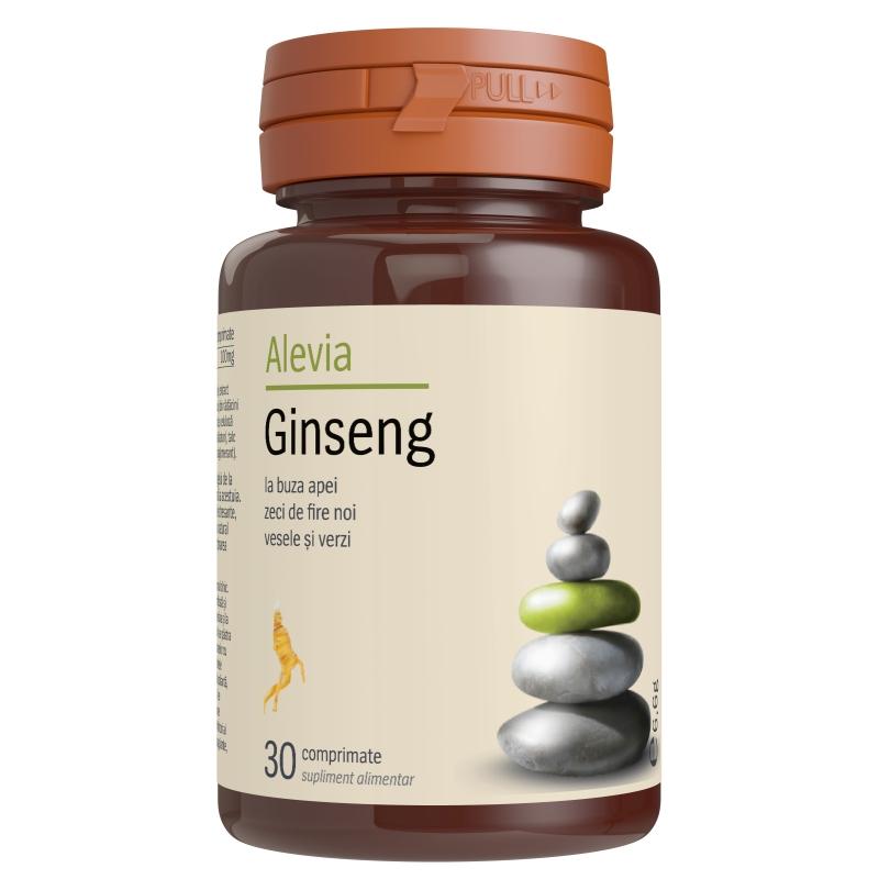 Ginseng, 30 capsule, Alevia imagine produs 2021