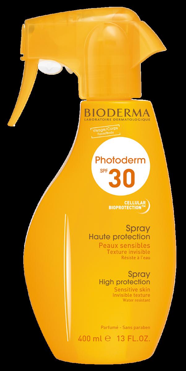 Spray protectie solara Photoderm SPF 30, 400 ml, Bioderma drmax.ro