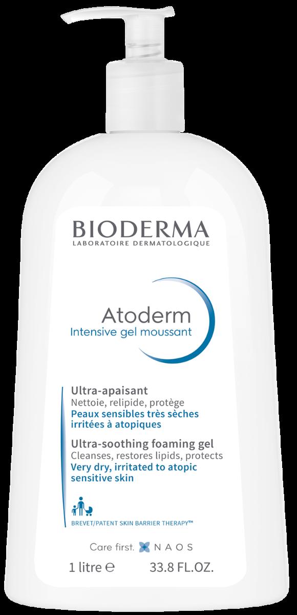 Gel spumant Atoderm Intensive, 1000ml, Bioderma drmax.ro